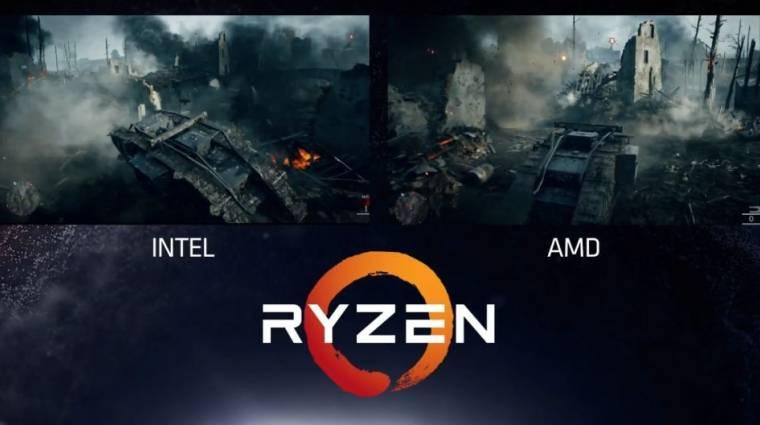A Ryzen az AMD új nyolcmagos processzora kép