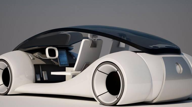 Még nem tett le teljesen az önvezető autókról az Apple kép