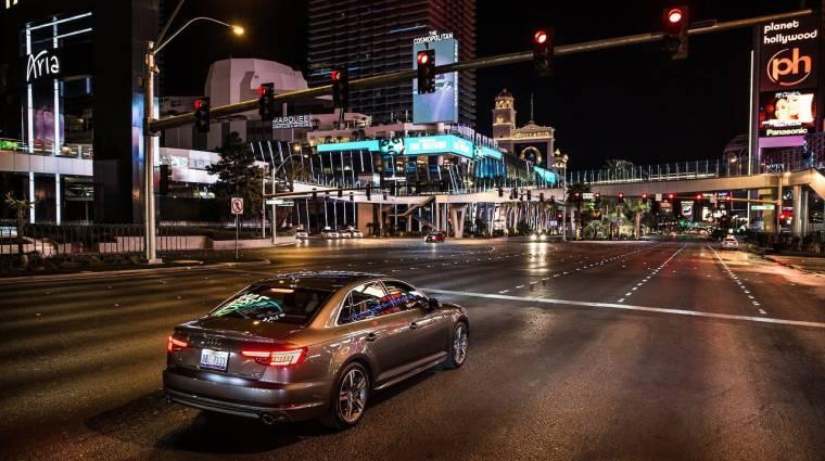 Visszaszámol a pirosnál az Audi új rendszere kép