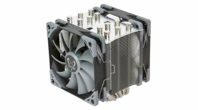 Itt az ötödik Scythe Mugen CPU-hűtő kép