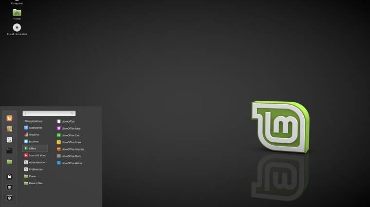 2021-ig lesz támogatott a Linux Mint 18.1 kép