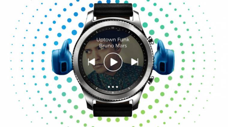 Már a Gear S3-on is van Spotify kép