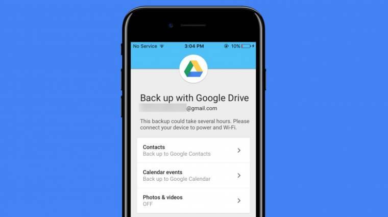 A Google Drive segít iOS-ről Androidra váltani kép