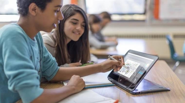 Bírja a strapát a HP iskolásoknak készült laptopja kép