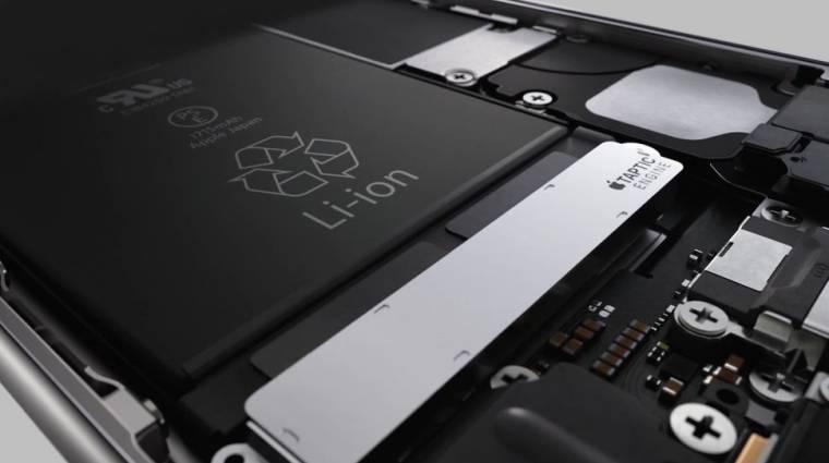 Kiderült, hogy mi a baj az iPhone 6S akkumulátorával kép