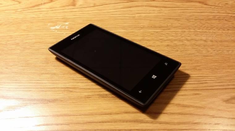 Ilyen az Android 7.1 egy Lumia 520-on kép