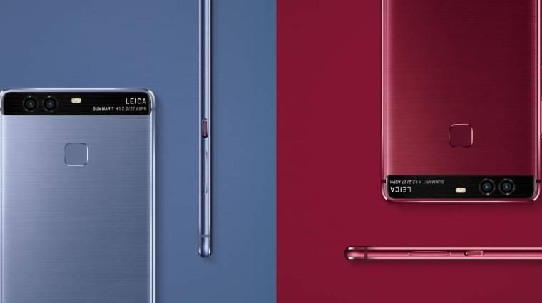 Indul a Huawei P9 és a Mate 8 frissítése kép