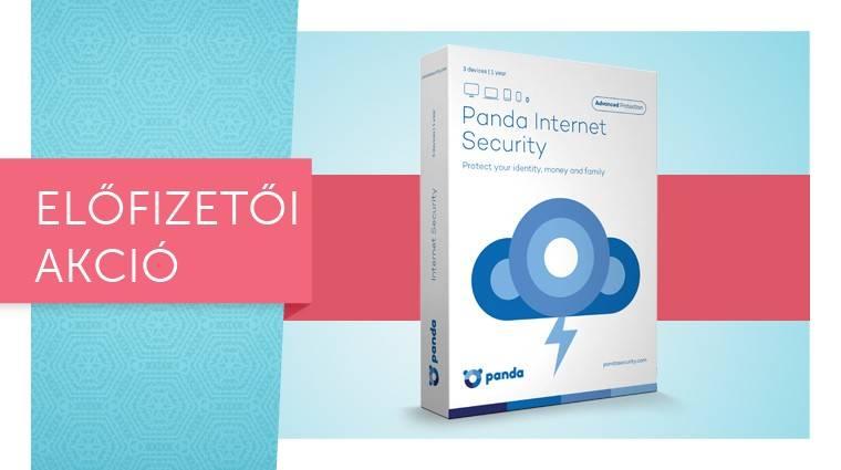 Panda Internet Security 17 - szerezd meg egy előfizetéssel kép