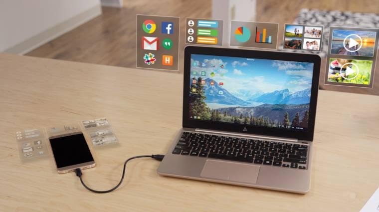 Késik a Kickstarteres okostelefon-laptop kép
