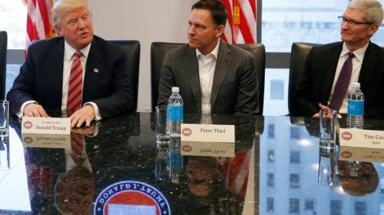 Remekül sikerült Trump és a tech óriások találkozója kép