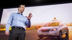 Önvezető autón dolgozik a Google kiugrott vezére kép