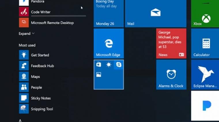 Kiszivárgott a Windows 10 frissítésének két érdekes újdonsága kép