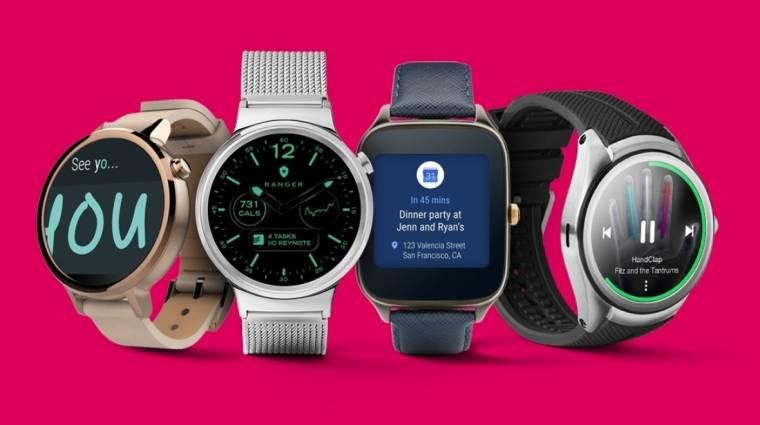 Február elején jön az Android Wear 2.0 kép