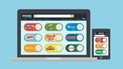 Virtuális Dash gombokkal újított az Amazon kép