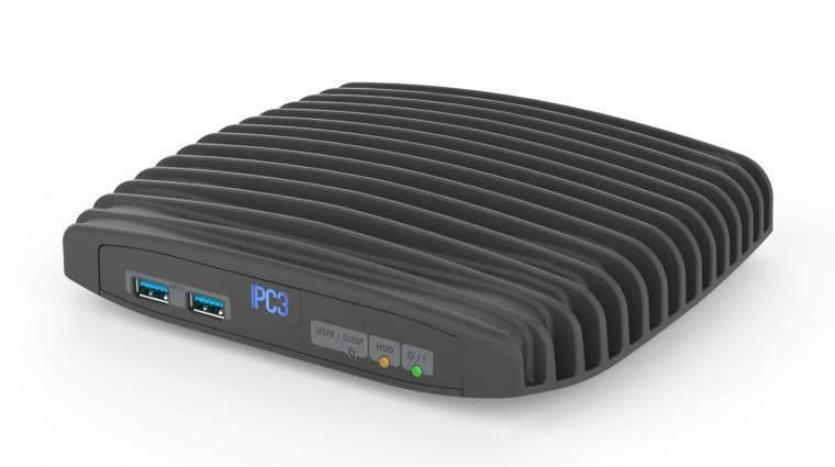 Compulab IPC3: Kaby Lake ventilátorok nélkül kép