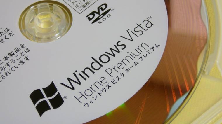 Hamarosan megszűnik a Windows Vista támogatása kép