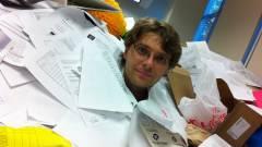 Véget vetettek a munkahelyi email-terrornak a franciák kép