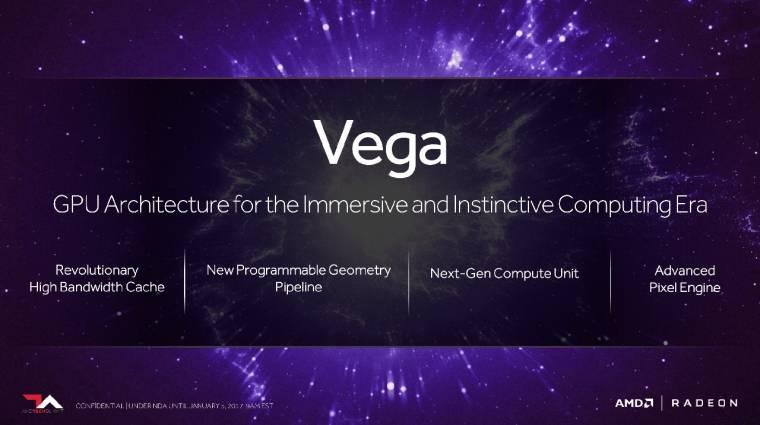 Bemutatkozott az AMD Vega architektúra kép