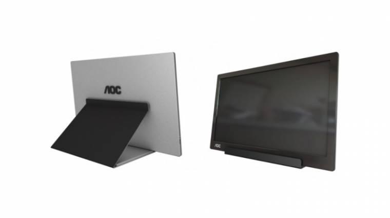 Egyetlen USB 3.1 kapuról működik az AOC monitora kép