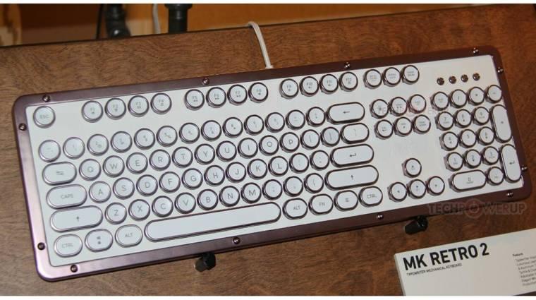 Villantós az AZIO retró klaviatúrája kép