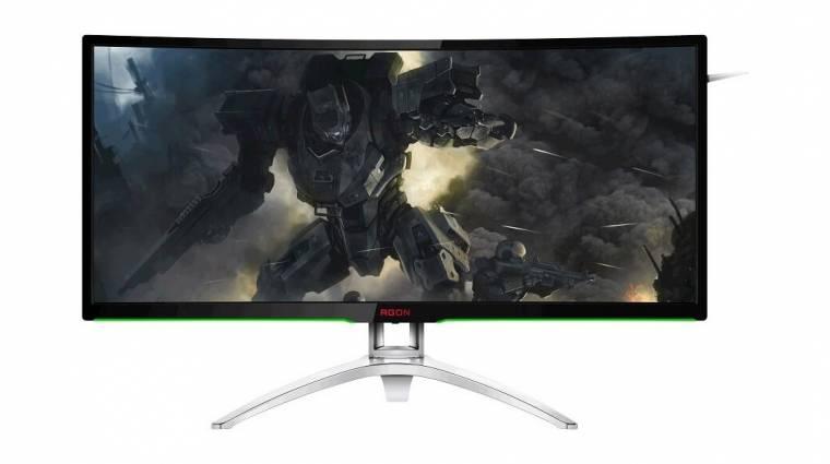 A gamereknek kedvez az AOC új monitora kép