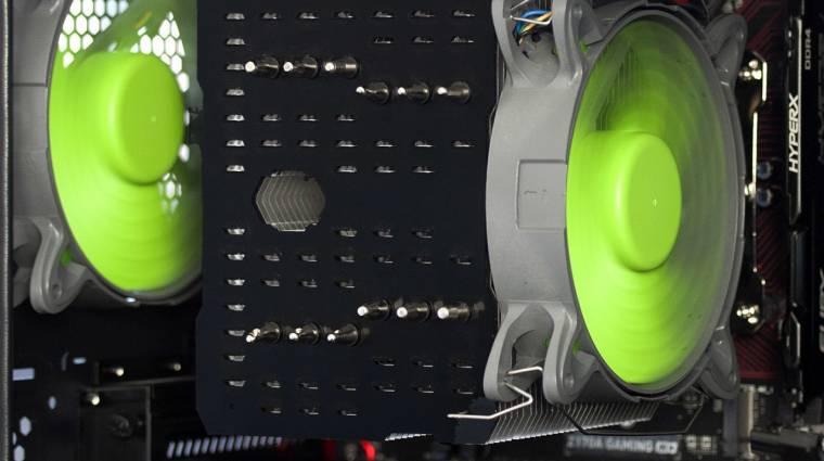 Az autóiparból merít a Nanoxia hűtője kép