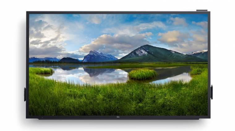Óriási méretű 4K kijelzőkkel újított a Dell kép