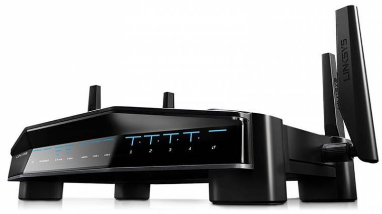 Killer technológia a Linksys Wi-Fi routerében kép