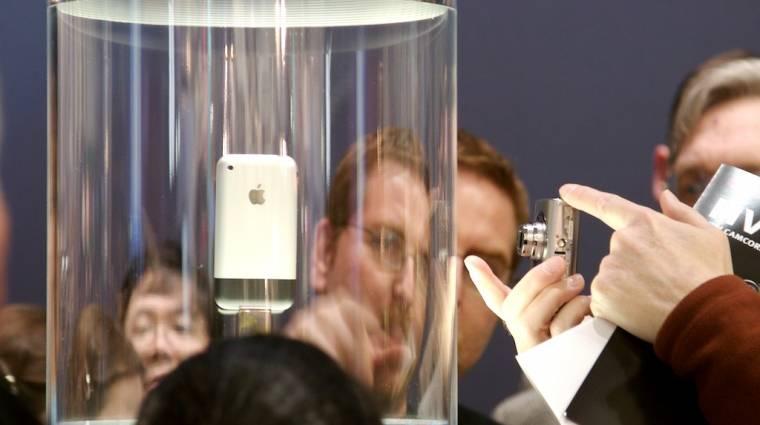 Az iPod továbbfejlesztése volt az iPhone kép