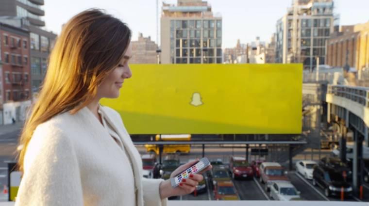 Nem fél a Brexittől a Snapchat kép