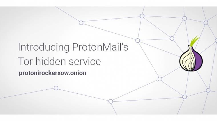 Már a Tor-hálózaton belülről is elérhető a ProtonMail kép