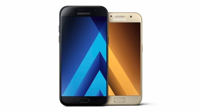 Bemutatkoztak a Samsung Galaxy A (2017) mobilok kép