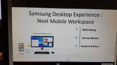Asztali módot kaphat a Samsung Galaxy S8 kép