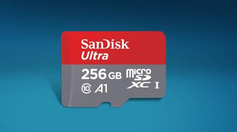 Itt a világ első A1-minősítésű microSD kártyája kép