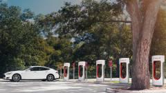 Megvan a Tesla Supercharger használatának ára kép