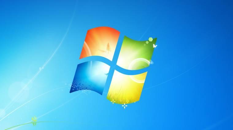 Három éve maradt a Windows 7-nek kép