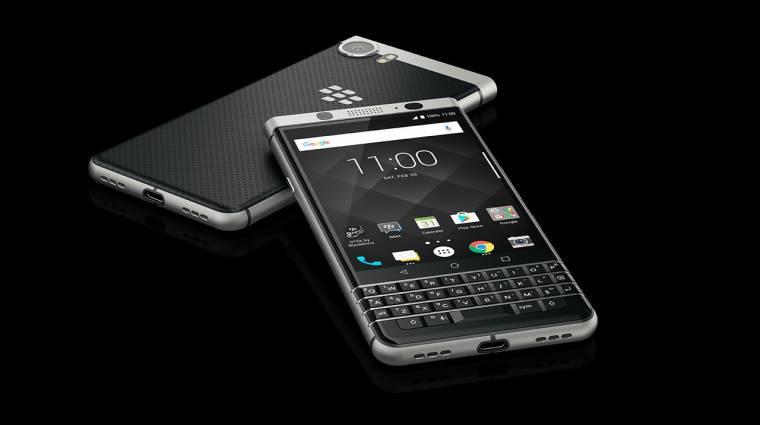 MWC: hivatalos a Blackberry KEYone okostelefon kép