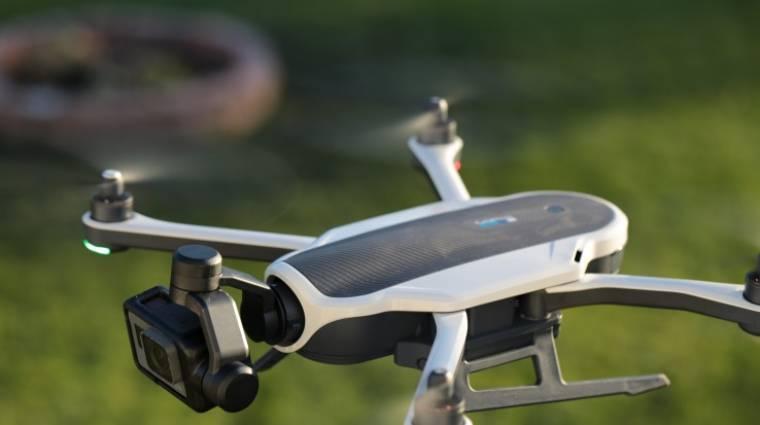 Visszatért a GoPro drónja kép