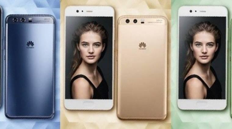 Így festhet színesben a Huawei P10 kép