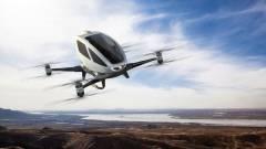 Drónok szállítják az embereket Dubajban kép