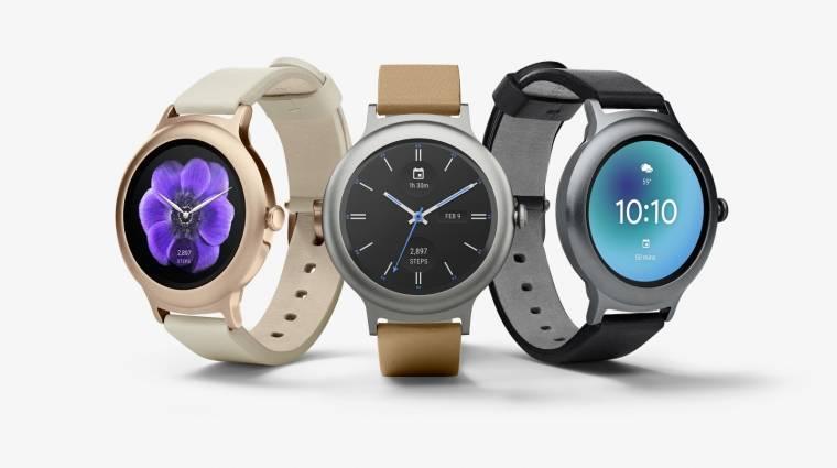 Itt az Android Wear 2.0 és az LG okosórák kép