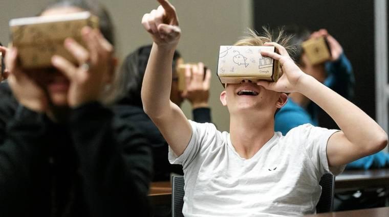 Meglepetés: a Google a VR-szektor királya kép
