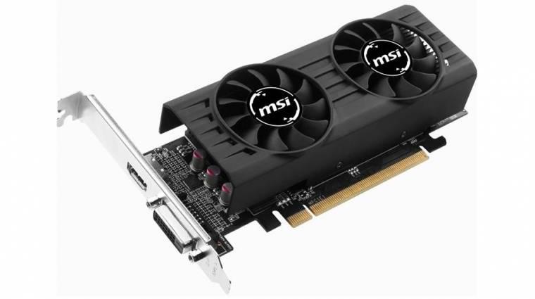 Alacsony profillal jön az új MSI Radeon RX 460 kép