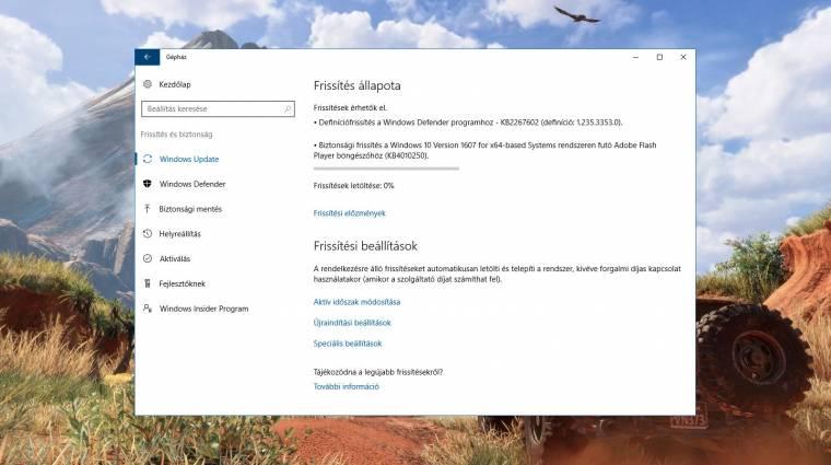 Kiszenvedett magából egy hibajavítást a Microsoft kép