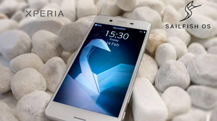 MWC: telepíthető lesz a Sailfish OS az Xperia X-re kép