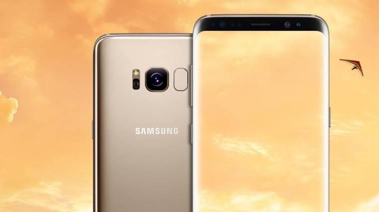 Nehéz dolgod lesz, ha Galaxy S8-at szeretnél kép