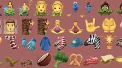 Ezekre a látványos emojikra számíthatsz idén kép