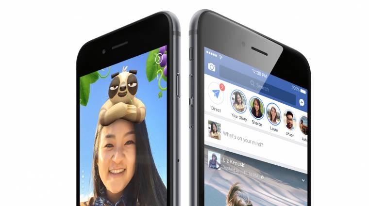 Nagyon rejtélyes gomb közelít a Facebookra kép