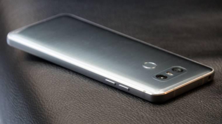 Ennyire karcolódik az LG G6 hátlapja kép