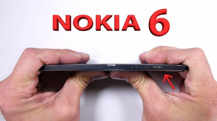 Bírja a strapát a Nokia 6 kép